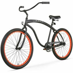 bruiser man beach cruiser bicycle 26 inch