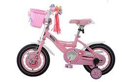 Royalbaby Bunny Girl's Bike Pink 18 inch Kid's bicycle