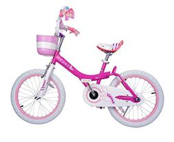 Bunny Girl's Bike Fushcia 12 inch Kid's bicycle
