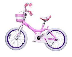 Bunny Girl's Bike Pink 12 inch Kid's bicycle