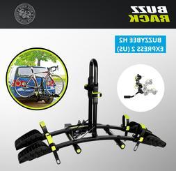 """BUZZ Rack Express 2 Bike Platform TILTING Hitch 1.25"""" or 2"""""""
