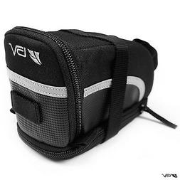 BV Strap-On Bicycle Pouch / Seat Bag, 3M Scotchlite Reflecti