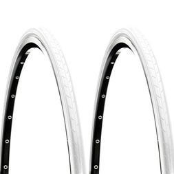 Tube Road Fixie Bike 700c *New 700x35c WHITE Cross Ranger Tire