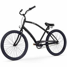 Firmstrong Men's CA-520 Alloy 3-Speed Beach Cruiser Bicycle,