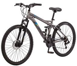 "Mongoose Cache 26"" Men's Mountain Bike, Grey"