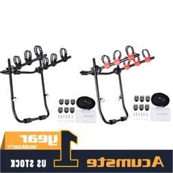Car Adjustable Rear Mounted 3Bike Trunk Mounted Rack Bicycle