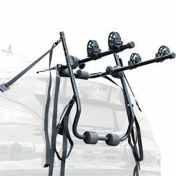 Car Rear Mounted 2 Bike Trunk Mounted Rack Bicycle Cycle Car