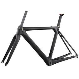 ICAN Full Carbon Aero Road Bike Frameset BB86 UD Matt 54cm