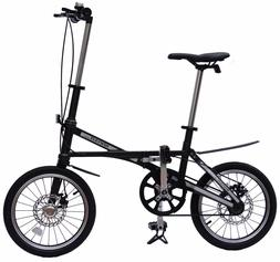 Carbon Fiber Compact Commuter Folding Bicycle