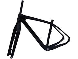 3K Carbon Glossy 29er MTB Mountain Bike Frame  19""