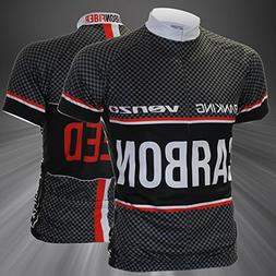 Carbon Type Short Sleeve Cycling Bicycle Bike Jersey XXL
