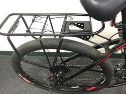 Carrier Disc Brake 26 & 700C Heavy Duty Black Rear Bike Rack