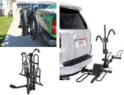 Carrier Fat Tire Bike Rack Mount Trailer Big Hitch Tray Univ