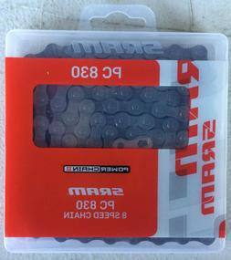 Sram PC830 Chain with Power Link, 1/2x3/32, Grey