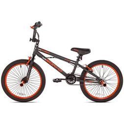 """KENT 20"""" Chaos Boys' Bike, 62082, Matte Gray/Orange"""