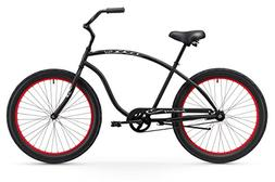 Firmstrong Chief 3.0 Man Single Speed Beach Cruiser Bicycle,