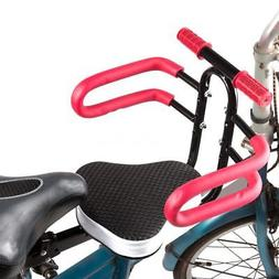 Child Bike Seat Front Mount Toddler Secure Bike Seat Carrier