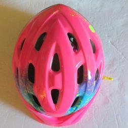 Bell Child Rally Bike Helmet - Pink Splatter Stella