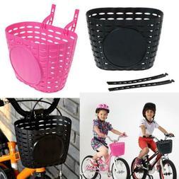 Girl Boy Bike Bicycle Front Handlebar Carrier Shopping Baske