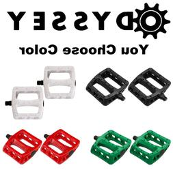"Choose Color Odyssey MX Twisted PC BMX Platform Pedals 9/16"""