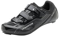 Louis Garneau Men's Chrome Bike Shoes, Black, US , EU