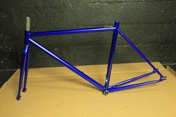 Chromoly Fixed Gear Frameset Track Road Bike Frame and Fork