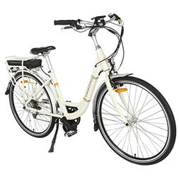 Onway 28 Inch 7 Speed Women City Electric Bike with Pedal As
