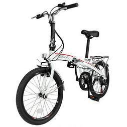 "Xspec 20"" 7 Speed City Folding Mini Compact Bike Bicycle Urb"