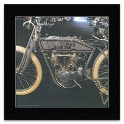 Classic Bikes - Vintage 1915 Harley-Davidson Mini Poster - 4
