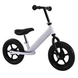 "Costzon 12"" Classic No-Pedal Balance Bike Kids Walking Bicyc"