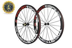 Superteam 50mm Clincher Wheelset 700c 23mm Width Cycling Rac