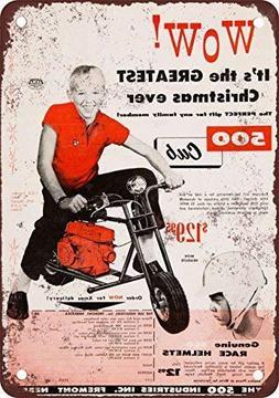 FemiaD 1959 500 Club Mini-Bikes Vintage Look Reproduction Me