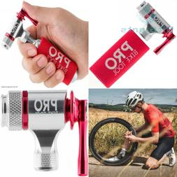 Pro Bike Tool CO2 Inflator, Quick & Easy, Presta and Schrade