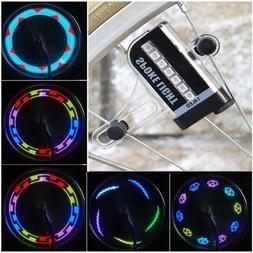 Colorful Bicycle Bike LED Spoke Light Cycling Wheel Waterpro