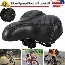 Comfort Bike Seat Replacement Bicycle Saddle Universal Fit W