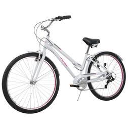 Huffy Comfort Hybrid Bikes 27.5 inch Casoria Lightweight, Bl