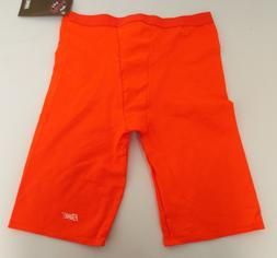 BIKE COMPRESSION PERFORMANCE SHORTS ORANGE UNISEX ATHLETIC C