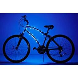 Cosmic Brightz Borealis Blue - Bike Frame Light - Be Safe Be