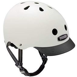 Nutcase Cream Solid Bike Helmet