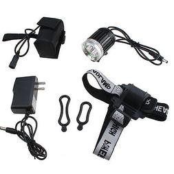 AGPtek® 4000LM 3x CREE XM-L T6 LED Bike Bicycle Light HeadL