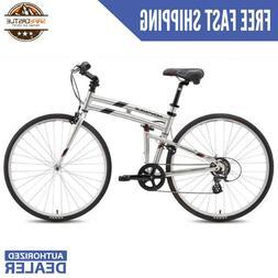 "Montague Crosstown 7 Speed Folding Bike Large - 21"""