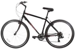 Sapient Cruise Bike Black/White/Red 17in Mens