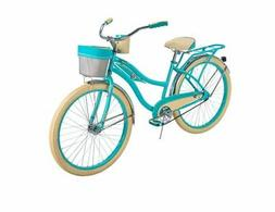 Huffy Cruiser Bike Womens Deluxe 26 inch Teal NEW