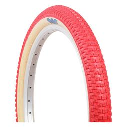 "Red /& Gum Wall SE Bikes Cub VEE Rubber 26/"" x 2.0/"" BMX//MTB Bicycle Tire"