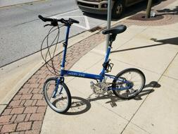 Bike Friday Custom built Folding Bicycle with bag and lots o