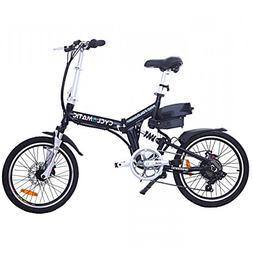 Cyclamatic CX4 Pro Dual Suspension Foldaway E-Bike Electric
