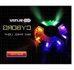 BLITZU Cyborg Multicolor LED Bike Wheel Light Spokes & Rims