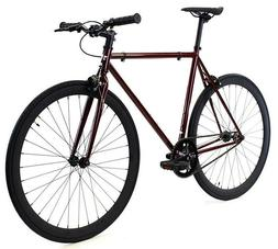 Golden Cycles Fixed Gear Single Speed Bike Bicycle Redrum 41