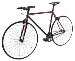 Golden Cycles Fixed Gear Single Speed Bike Bicycle Cardinal
