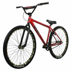 "Throne Cycles The Goon 29"" BMX Bike Bicycle Gunmetal Purple"